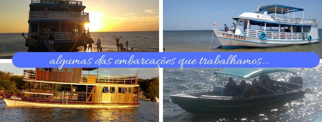 Nossas Embarcações Parceiras