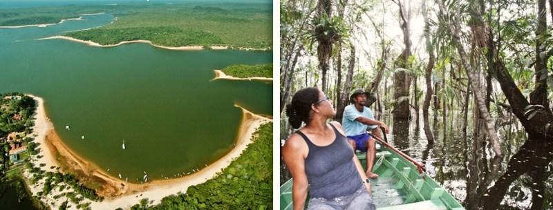 Lago Verde - Passeios em Alter do Chão